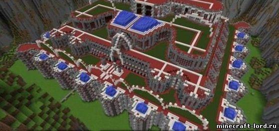 Карта the red palace для minecraft pe